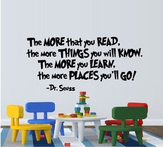 The More That You Read - Dr. Seuss - $13.48