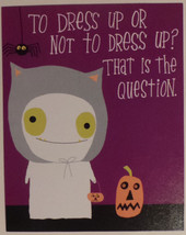 "Greeting Halloween Card ""Granddaughter"" TO LOVE A Granddaughter like you... - $1.50"