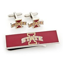 Iowa State Cyclones Cufflink and Money Clip Gift Set [Watch] - $94.95