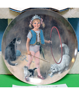 "1983 Collector Plate, John McCelland, ""Maggie The Animal Trainer"" Pack/C... - $10.95"