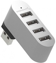 Sabrent Premium 4 Port Aluminum Mini USB 2.0 Rotatable Hub [90°/180° Degree - $22.88