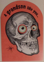 "Greeting Halloween Card ""Grandson"" A grandson like you... - $1.50"
