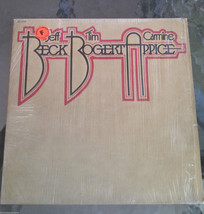 Rare 1973 Jeff Beck Tim Bogert Carmine Appice LP Record VG Shrink Black ... - $7.28