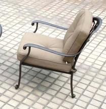 Patio Conversation Set Deep Seating Outdoor Furniture 5-Piece Elisabeth aluminum image 2