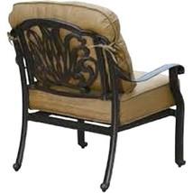 Patio Conversation Set Deep Seating Outdoor Furniture 5-Piece Elisabeth aluminum image 3