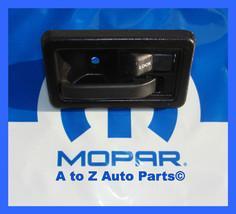 NEW 1990-2002 Jeep Wrangler PASSENGER Side Interior Door Handle, OEM Mopar - $79.95