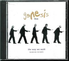 GENESIS / LIVE  * THE WAY WE WALK * VOLUME ONE  C D - $3.00