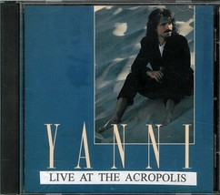 YANNI  * LIVE AT THE ACROPOLIS *  CD - $2.99