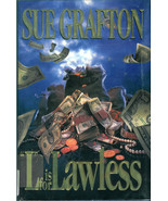 """SUE  GRAFTON  * """" L"""" IS FOR LAWLESS * - $2.99"""