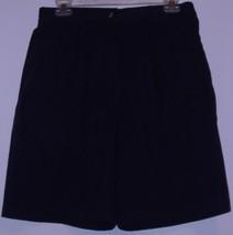 JENNIFER  MOORE   *SHORTS*  BLACK - SIZE 12 - COTTON / POLYESTER - $7.99