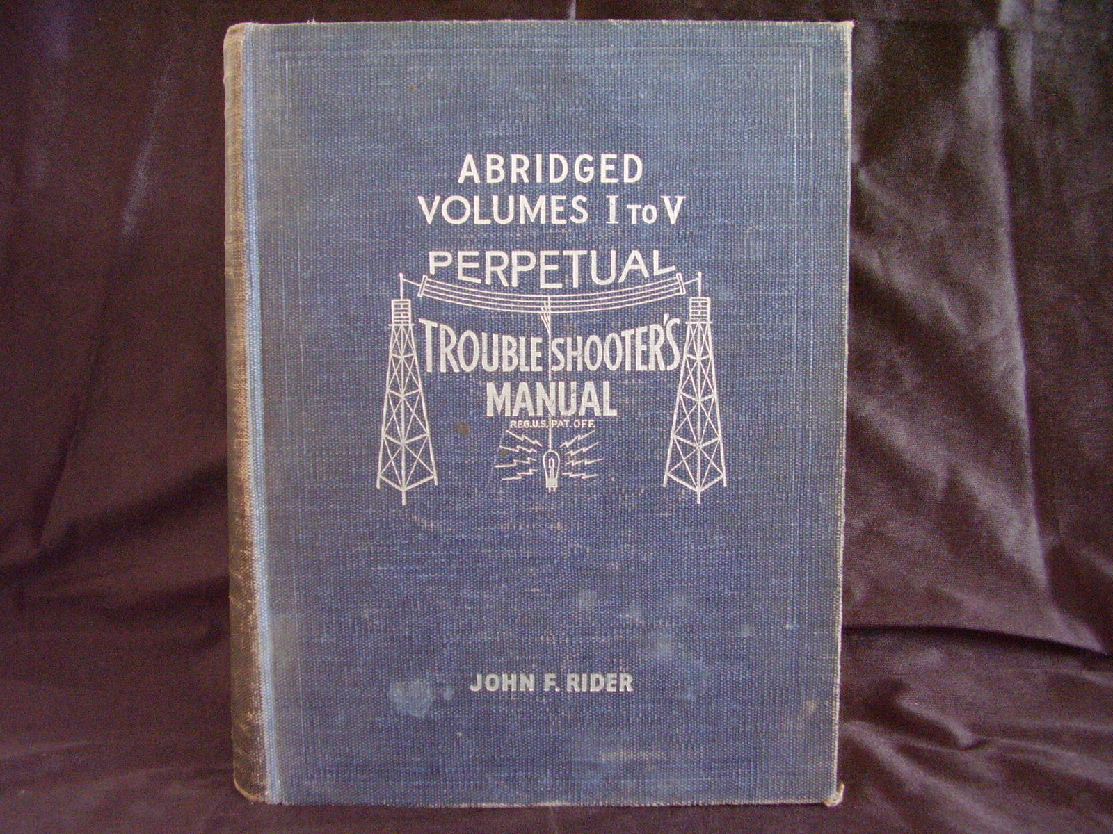 1941 Perpetual Troubleshooter's Manual  Vol. 1 to 5 John F. Rider