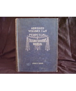 1941 Perpetual Troubleshooter's Manual  Vol. 1 ... - $29.95