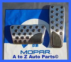 NEW 2008-2015 Dodge Challenger Pedal Pads Accent Kit, OEM Mopar - $89.95