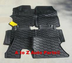 NEW 2011-2012 Dodge Durango Slush Style Floor Mats With 3RD Row Mat, OEM Mopar - $149.95