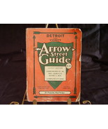 1963 Arrow Detroit Street Guide - $10.00