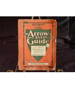 1963 Arrow Detroit Street Guide - $10.00