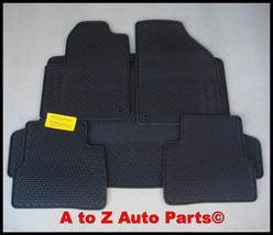 New 2013 Dodge Dart Rubber Slush Style Floor Mats And Cargo Mat Combo, Oem Mopar - $144.95