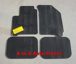 New 2012 2015 Dodge Journey Black Rubber Slush Style Floor Mats, Oem Mopar - $149.95