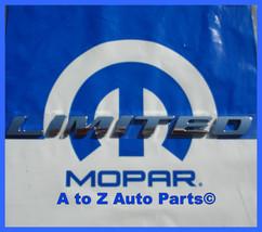 New 2012 2013 Ram 1500 Limited 3 D Chrome Tailgate Nameplate / Emblem, Oem Mopar - $34.95