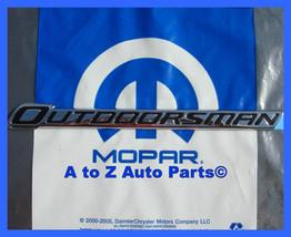 New 2011 2012 Dodge Ram Chrome Outdoorsman Tailgate Emblem,Nameplate,Oem Mopar - $44.95