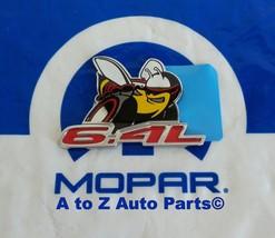 """NEW 2015 Dodge Challenger """"SCAT PACK 6.4"""" Fender Nameplate /  Emblem,OEM Mopar - $49.95"""