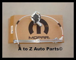 02-06 Jeep Liberty Left REAR Window Regulator, Mopar - $214.95