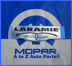 NEW 2009-2013 Dodge Ram 1500-3500 Chrome LARAMIE Nameplate / Emblem, OEM Mopar - $39.95