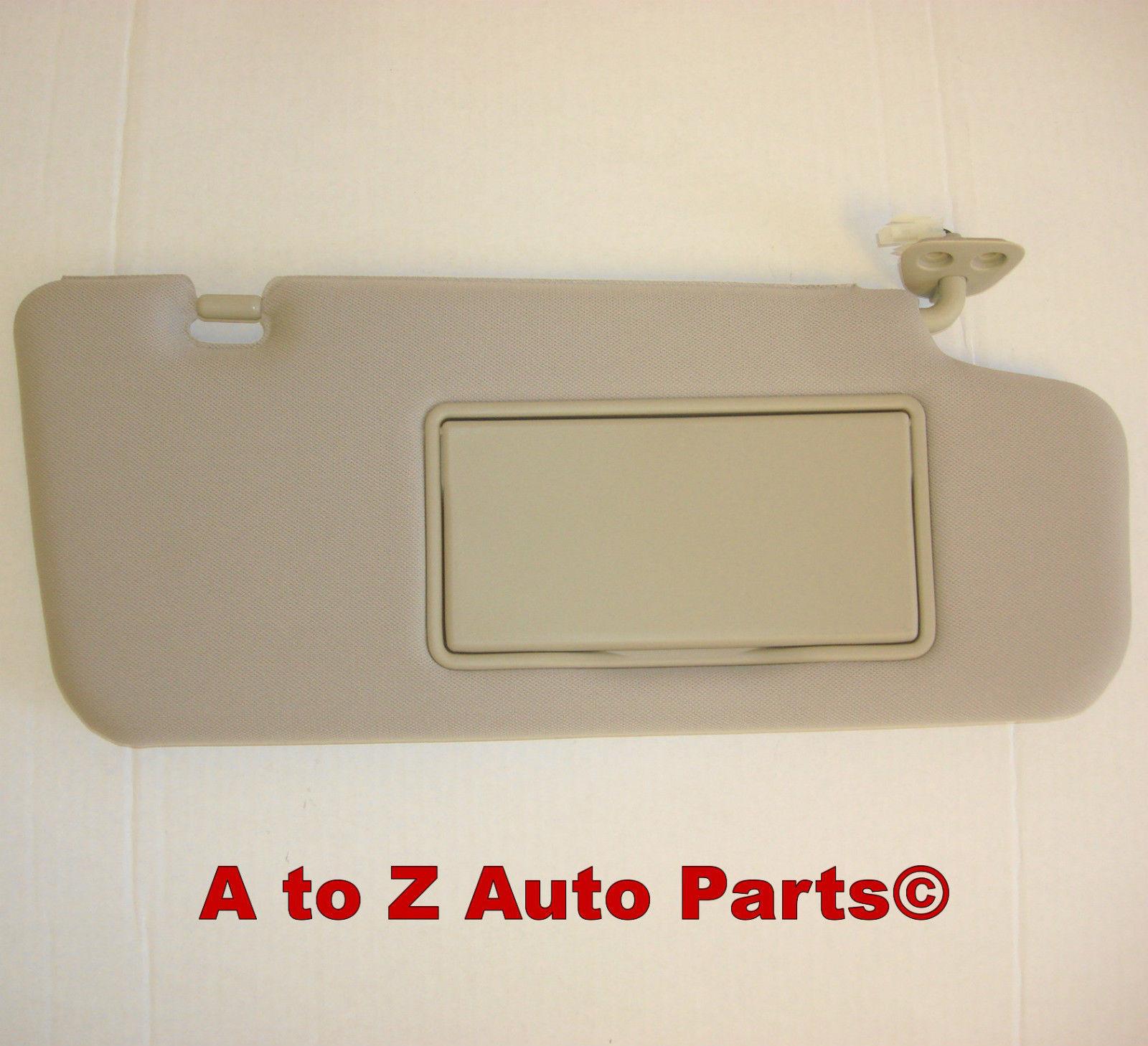 NEW 2006-2007 Nissan Murano BEIGE (G) PASSENGER or RIGHT SUN VISOR  Assembly d71eacf0f85