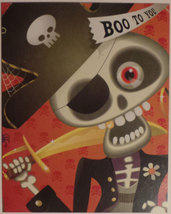 "Greeting Halloween Card ""BOO TO YOU"" - $1.50"
