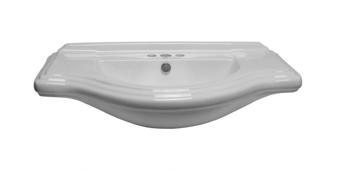 Large White Sink : Sink Part White Large Bayside Wall Mount Sink Only Renovators ...