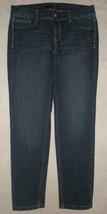 White House Black Market Noir Slim Ankle Stretch Denim Jeans Size 4 - $19.99