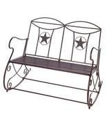 Lone Star Rocking Bench - $230.00