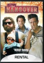 THE  HANGOVER  * ED HELMS - BRADLEY COOPER - ZACH GALIFIANIKIS *  DVD - $3.00