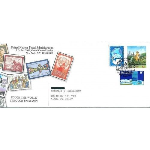 Primary image for UNITED  NATIONS  * CITY SUMMIT HABITAT *  FIRST DAY COVER - JUNE 3, 1996