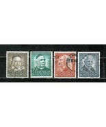 GERMANY  #  B 334 - 337  *SEMI POSTAL STAMPS* COMPLETE SET OF 4 STAMPS - $17.99