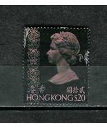 HONG KONG  # 288  * QUEEN ELIZABETH * $ 20 - $3.00