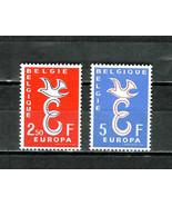 BELGIUM   # 527-528  * EUROPE * MINT - COMPLETE SET - $2.39
