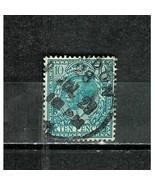 GREAT  BRITAIN  # 199  * KING GEORGE V * 10 PENCE - WATERMARK 35 - $8.99
