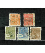 BRAZIL  # 224 - 230  AVIATION / MERCURY - $1.29