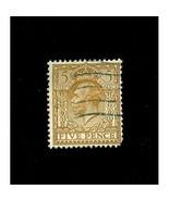 GREAT  BRITAIN  # 194  * KING GEORGE V * 5 PENCE *- WATERMARK 35 - $1.50