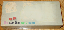 SPORTS ILLUSTRATED SPORTING WORD DICE GAME 1961 PARKER BROTHERS COMPLETE... - $10.00