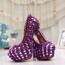 Purple wedding shoes,Wedding/Evening Heels,Dress shoes,Party shoes,Brida... - $168.00