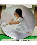 "1985 Collector Plate, Donald Zolan, ""Tender Beginning"" Original Box/Cert... - $9.95"