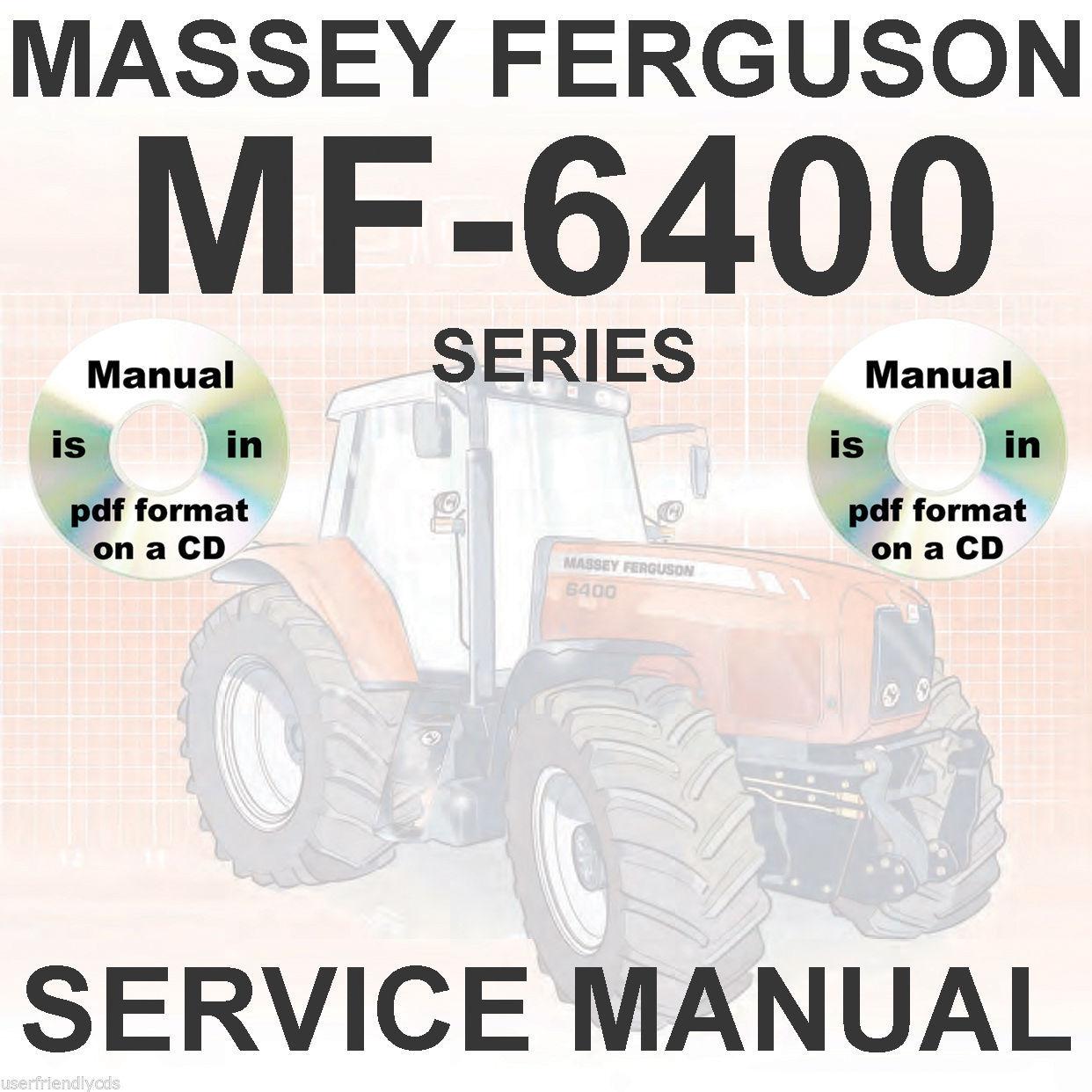 Massey Ferguson Tractors MF6495 MF6497 and 21 similar items