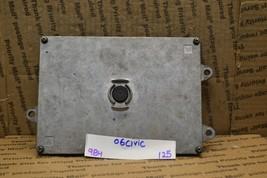 2006-2008 Honda Civic 1.8L Engine Control Unit ECU 37820RNAA64 Module 125-9B4 - $32.36