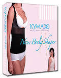 2 tops Kymaro Body Shaper (1 black 1 nude) Seen on Tv Kymaro Shapewear top only
