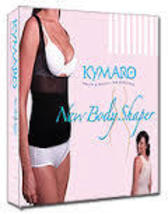 2 tops Kymaro Body Shaper (1 black 1 nude) Seen on Tv Kymaro Shapewear t... - $35.00
