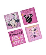 Disney Minnie Mouse Canvas Wall Art (4-Piece New) - $29.58