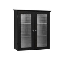 2 Door Cabinet Medicine Bath Storage Modern Mount Shelf Fashion Glass Do... - $94.65