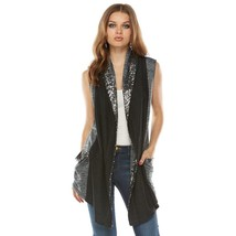 NEW! Juicy Couture Flyaway Terry Vest - Gray Sp... - $54.95